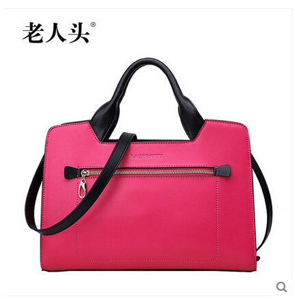LAORENTOU 2015 spring and summer hit color leather laptop ...