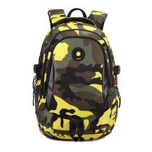 camouflage backpack children backpacks school bags for girls kids elementary orthopedic blue camouflage schoolbag boys sport bag(China (Mainland))