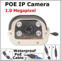 High Resolution Onvif H 264 1 0 MP HD 720P Network IP Camera Waterproof Outdoor Night