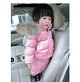 The Hot Sale Special Offer Solid Full 2016 Winter Eiderdown Jacket Suits Children Baby Hat Small