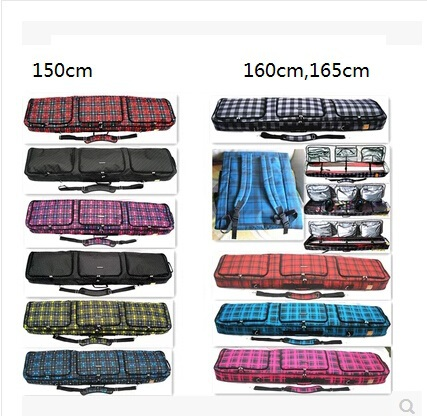 150cm Skis Bag Mono-board double-board Skiing Board Bag Snowboard Bag Skiing Products skiing shoes fitted device(China (Mainland))