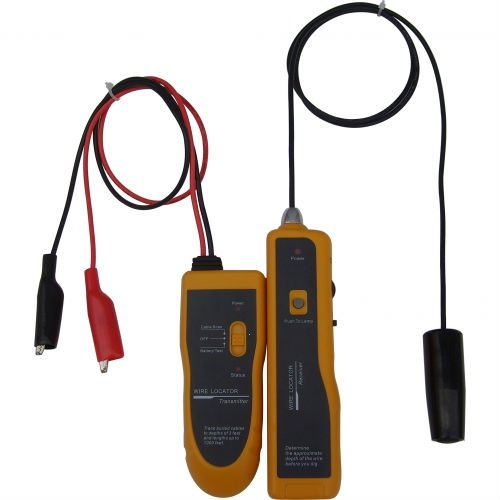 NF816 New Underground Wire Locator Wire tracker With LED for electrical wire, CATV coax, telephone drops ACCEPT PAY-PAL(China (Mainland))