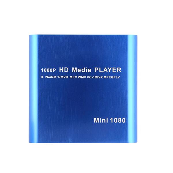 One 1080P HDD Muti-function Media RMV MP4 AVI FLV Player MKV/H.264/RMVB Full HD With HOST USB Card Reader Newest(China (Mainland))