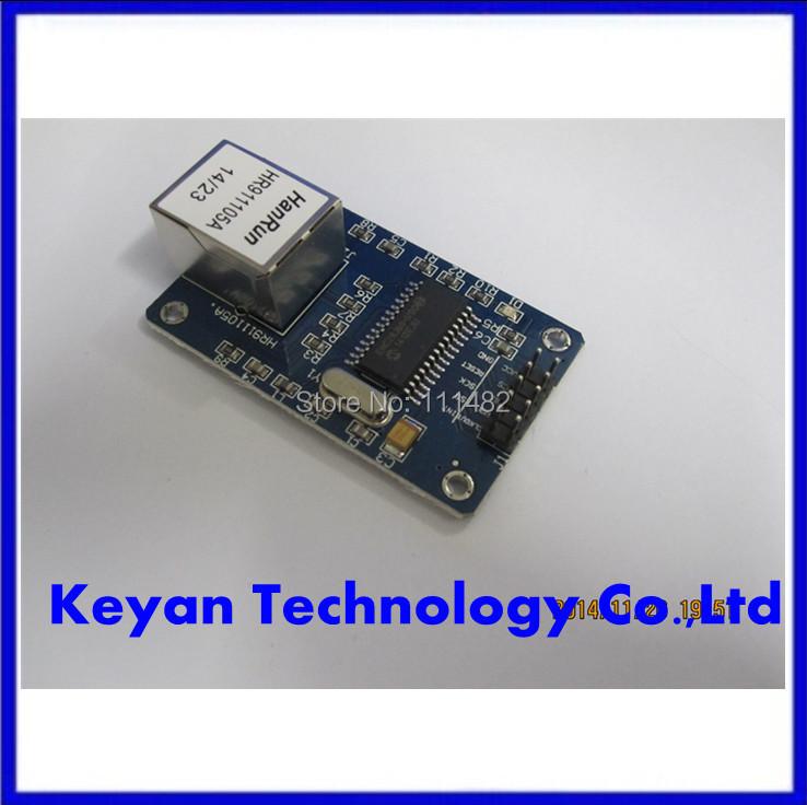 + 2 шт/много ENC28J60 локальной сети Ethernet сетевой модуль доски 25МГЦ Кристалл AVR и 51 ЗЗК STM32 3,3 в