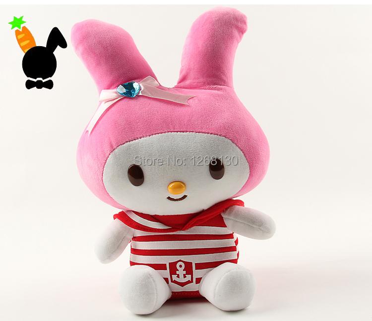 Small Rabbit Plush Toy 30cm Cute FunnySoft Stuffed Animal Bunny Doll For Children Girlfriend Christmas Gift Brinquedo Menina(China (Mainland))