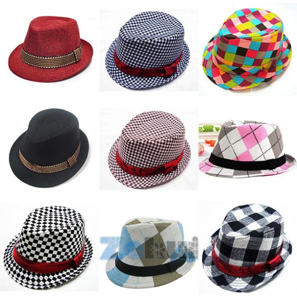 Hot Selling! 2015 Fashion Jazz Toddler Kids Baby Boy Girl Cap Cool Photography Fedora Hat Top Free Shipping