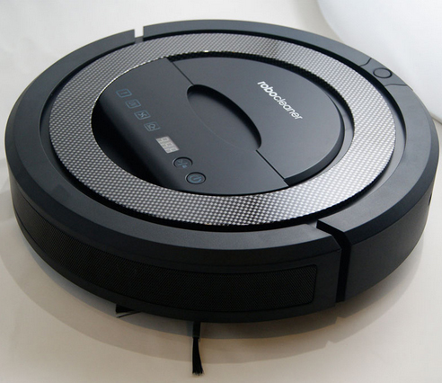 TOP-Grade Multifunctional 5 In1 Robotic vacuum cleaner QQ5, patent ultrasonic wall,UV Sterilize