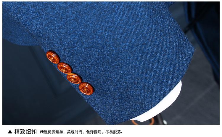 HTB1BkOfQXXXXXb7XXXXq6xXFXXXP - La MaxPa (jacket+pants+vest) New fashion men suit spring autumn blue suits casual slim fit prom groom party man wedding suit