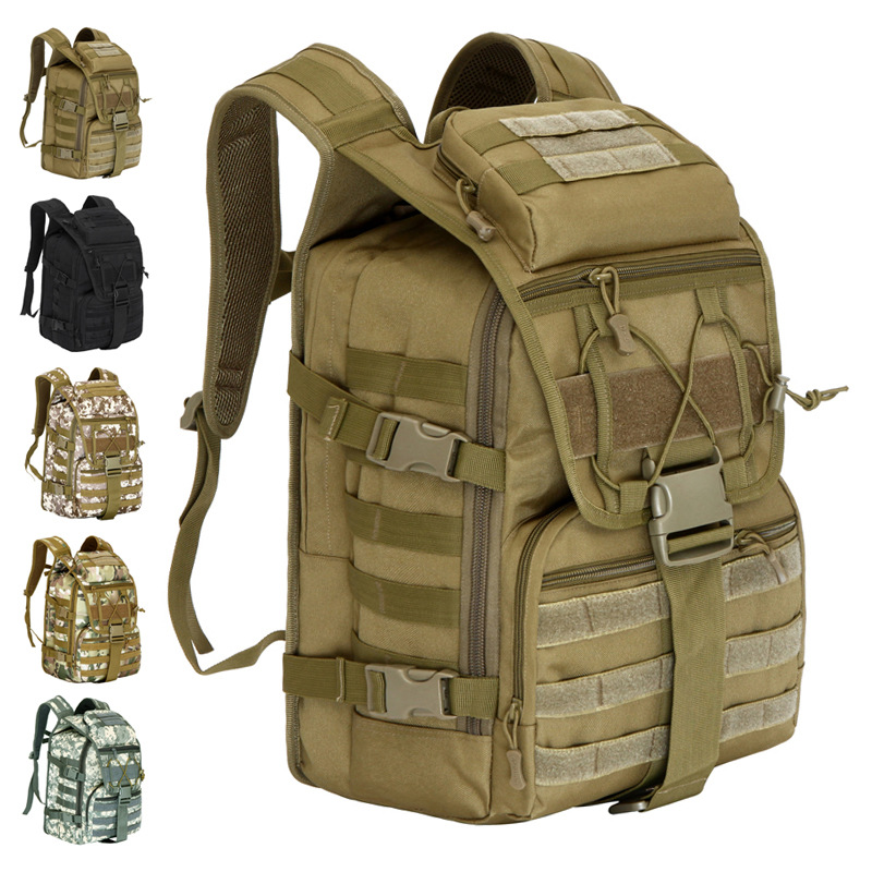 Extra Large 40L Men*Women's 3D waterproof Molle backpack military 3P Tad Backpack assault travel bag - Crazy In Thai store