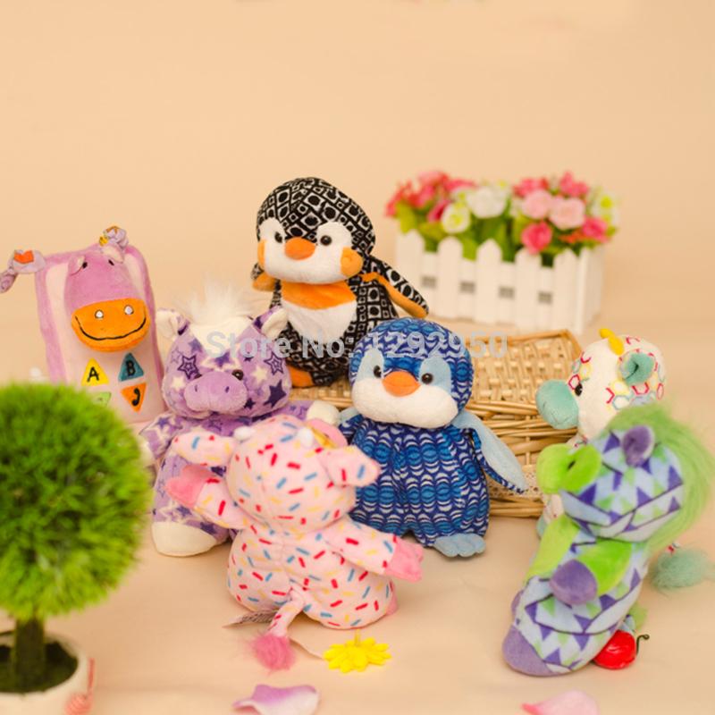 Ganz plush toy aw doll Jack-a-Lent child gift penguin(China (Mainland))