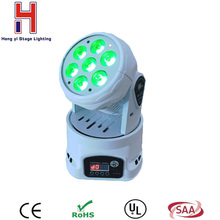 Buy Led Moving Head Wash 7x*12w Mini Music Sound Light Stage Home Christmas Party lumiere Laser Show Disco Dj Dmx Lamp Rgbw Licht for $68.90 in AliExpress store