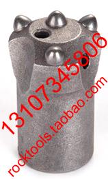 dia.40 Button Bits/Taper Bits(4PCS button)/Rock Drilling Tools/DTH/Hammers/Retrac Drifter threaded Taper Button/Chisel/Cross bit(China (Mainland))