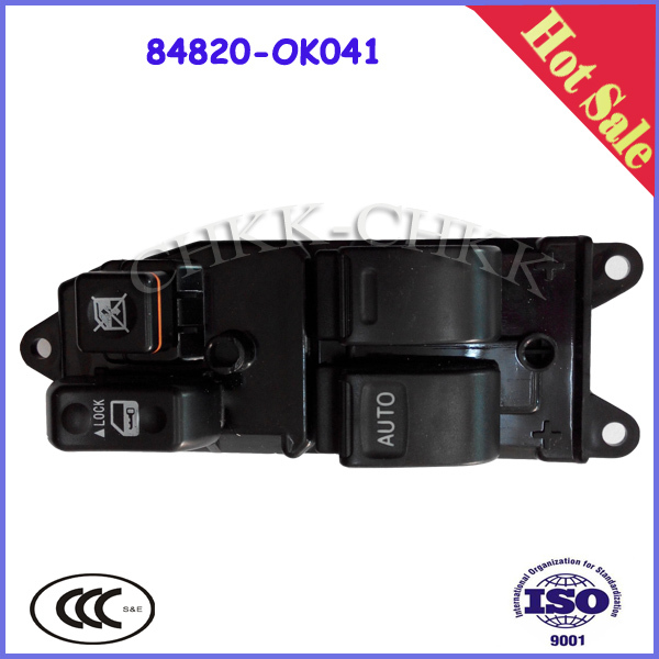 OEM 84820-0K041 Auto Power Window Switch For TOYOTA