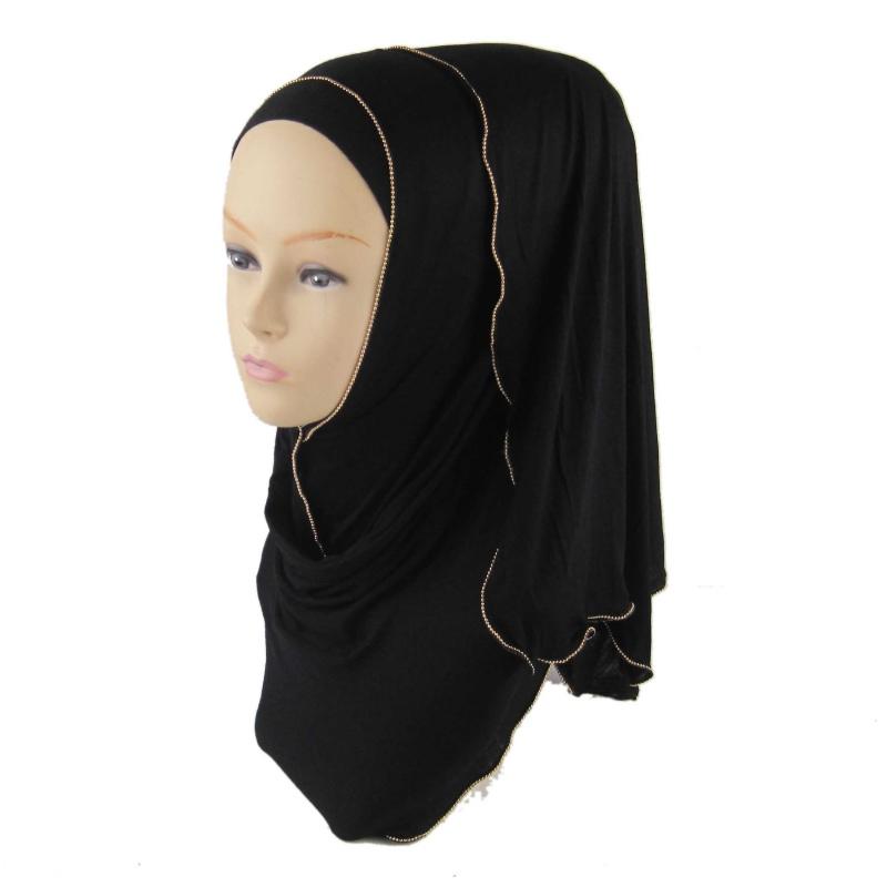 Retail Colorful Women Hijab Amira Islamic Jilbab Muslima Abaya Hejab Headscarf(China (Mainland))