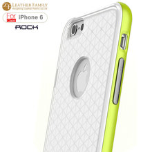 """Original Rock For iphone 6 case ultra thin Royce Series TPU back case for apple iphone6 4.7inch iphone 6 plus 5.5"""" cover green(China (Mainland))"""