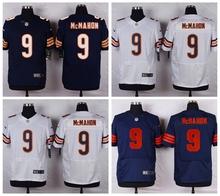 Chicago Bears #9 Jim McMahon Elite High-quality free shipping(China (Mainland))
