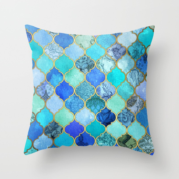 cobalt-blue-aqua--gold-decorat