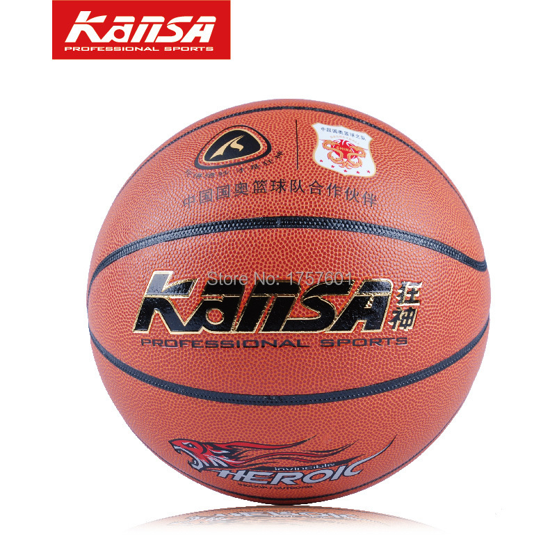 Orange color high quality Genuine pvc leather Size 7 Basketball ball, Exercise training Basketball Free ball bag+ Needle+Pump!(China (Mainland))