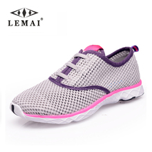 2016 new brand summer style women Fashion Zapatillas deportivas flats shoes, Breathable Water Walking zapatos mujer casual shoes(China (Mainland))