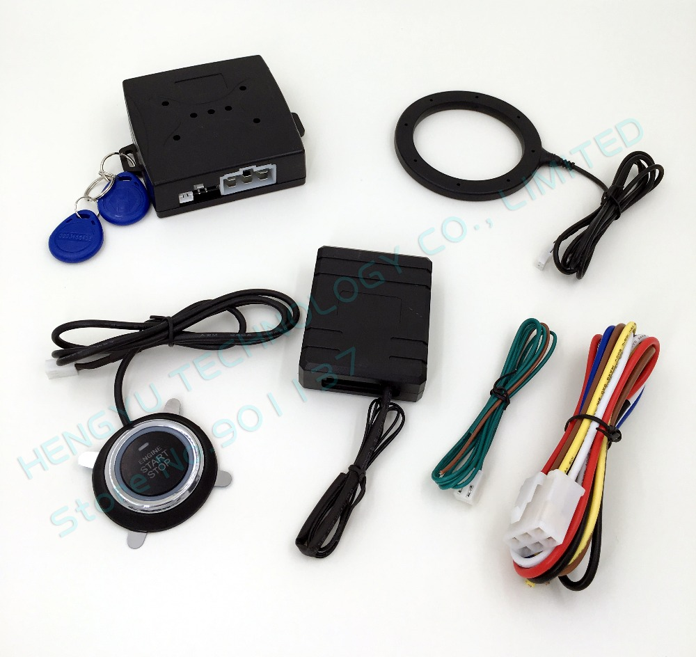 smart key rfid car system with finger engine start push. Black Bedroom Furniture Sets. Home Design Ideas