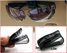 Hot Sale ABS Car Vehicle Sun Visor Sunglasses Eyeglasses Glasses Ticket Holder Clip Free Shipping Y50*MPJ132#M5