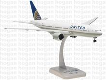 United Boeing 777-200 Hogan 1:200 United Airlines N204UA aircraft model(China (Mainland))