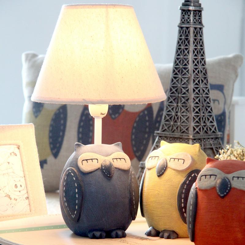 Achetez en gros lampe hibou blanc en ligne des - Lampe de table enfant ...