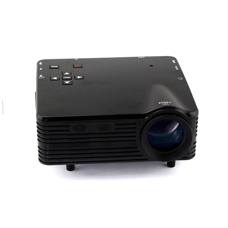 Portable mini led projector 640x480 micro multimedia lcd for Micro mini projector
