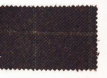 Personalizado Feito de Lã marrom escuro Espinha Tweed terno sob medida Dos Homens do estilo Britânico slim fit Blazer homens terno do casamento 3 pcs(China)