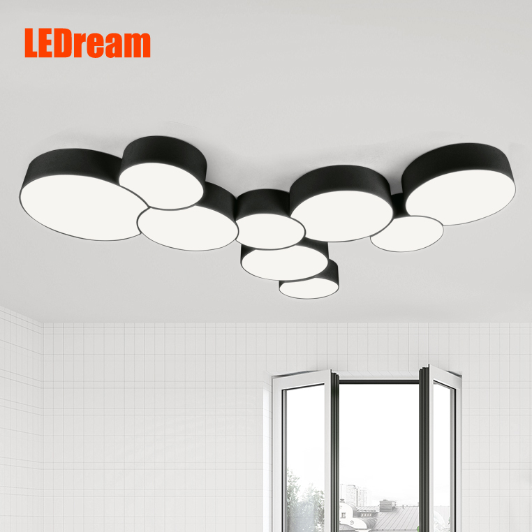 Contemporary  combination circular dome light Creative fashion led lamps  of study of the sitting room and bedroom lamp<br><br>Aliexpress