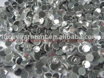 free shippine ss16/4mm hottest sell hot fix DMC rhinestone on aliexpress
