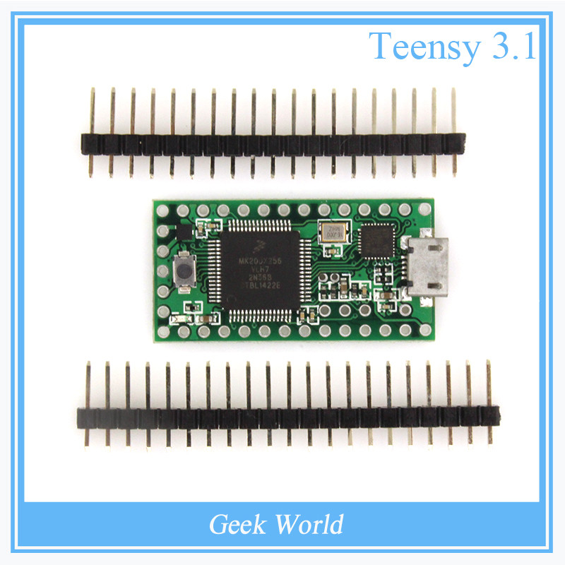 Teensy 3.1 USB 2.0 keyboard mouse teensy for Arduino AVR ISP experiment board U disk