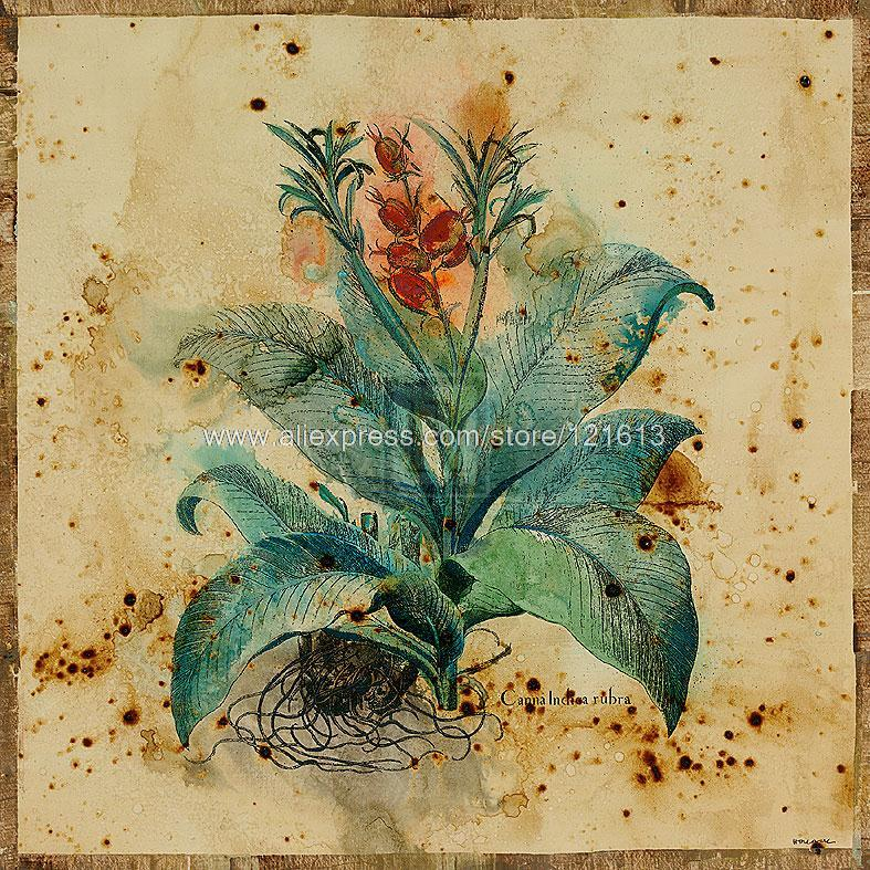 Hollack Aloe Designer Fine Art Or paints Various hand painted hotel western huge picture painting Office background High(China (Mainland))