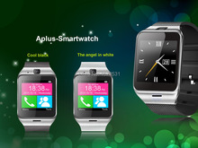 2015 Bluetooth Smart Watch Wearable Aplus GV18 Support NFC for Android IOS Phone GSM/Pedometer/Sleep tracker/Anti-lost SIM Card