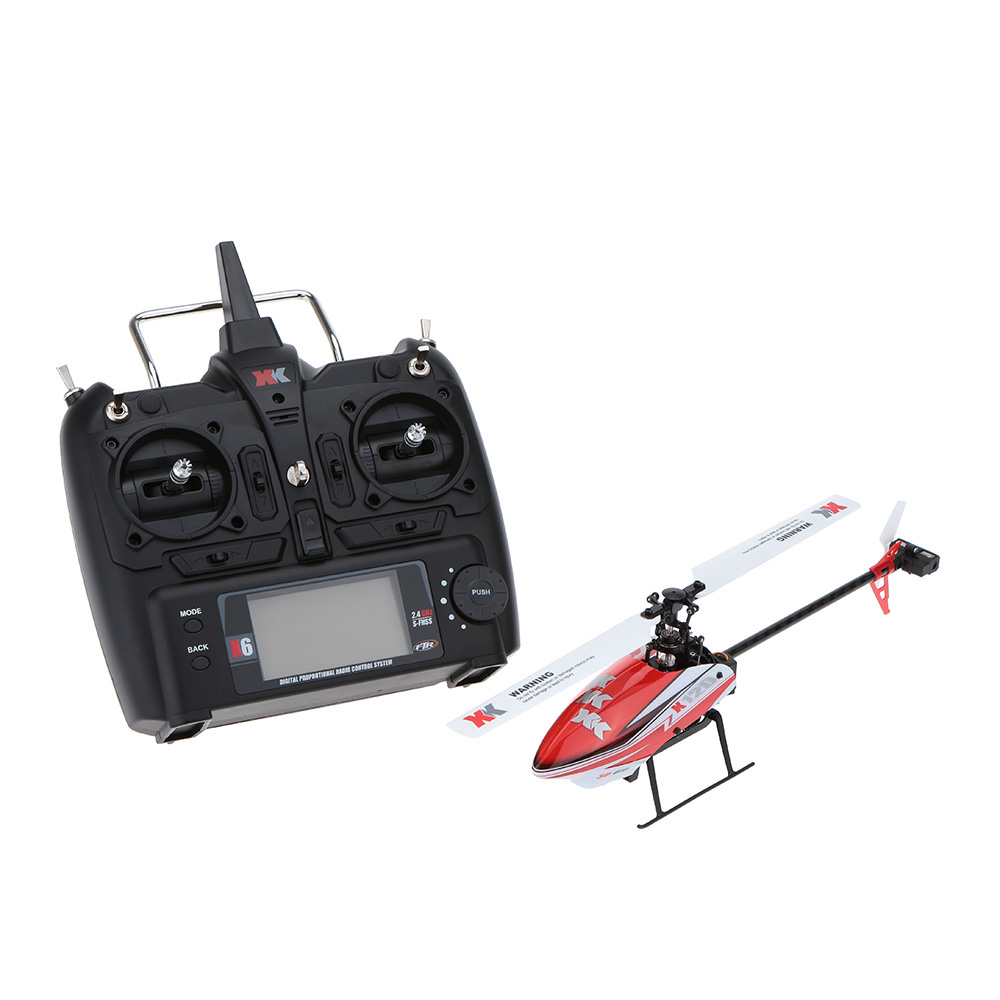 Original XK K120 Shuttle 6CH Brushless 3D/6G System RTF RC Helicoptero Remote Control Helicopter(China (Mainland))