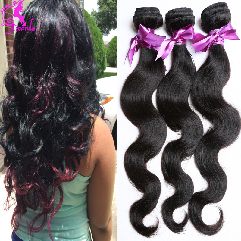 7A Brazilian Body Wave Virgin Hair Brazilian Hair Weave Bundles 4 Queen Hair Wet And Wavy Virgin Brazilian Hair The Top Selling