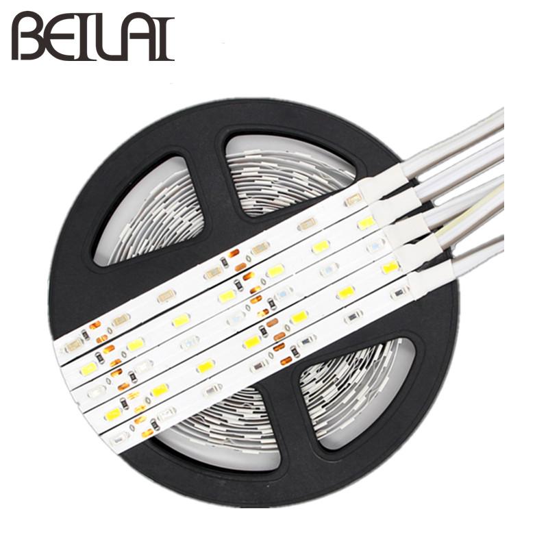 5630 iluminacion LED Strip Light 12V DC 5M 300LED Not Waterproof Tiras LED Light Flexible Neon Diode Lamp Luz LED Tape Christmas(China (Mainland))