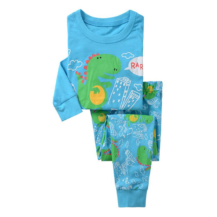 Little-Dinosaur-Pattern-Pijamas-Kids-Pajamas-Pyjamas-Kids ...