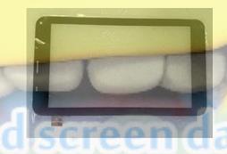 1 CUBE U51GT talk 7x Touch Screen NJG070123ACG0B-V4 touch screen external - Factory store