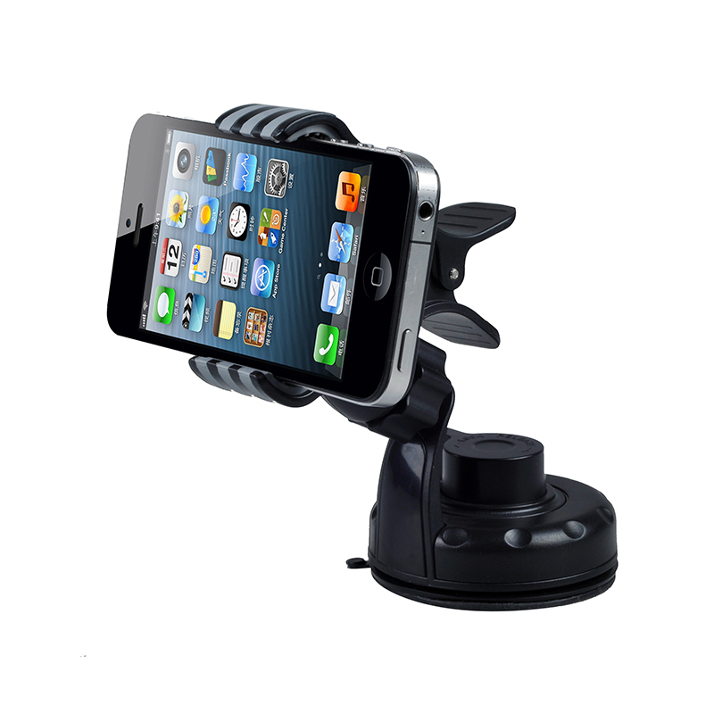 ABS & PVC Material Car Mount Phone Holder Stand Cellphone Clip Mount Car Dashboard Swivel Stand holder Phone Accessories(China (Mainland))