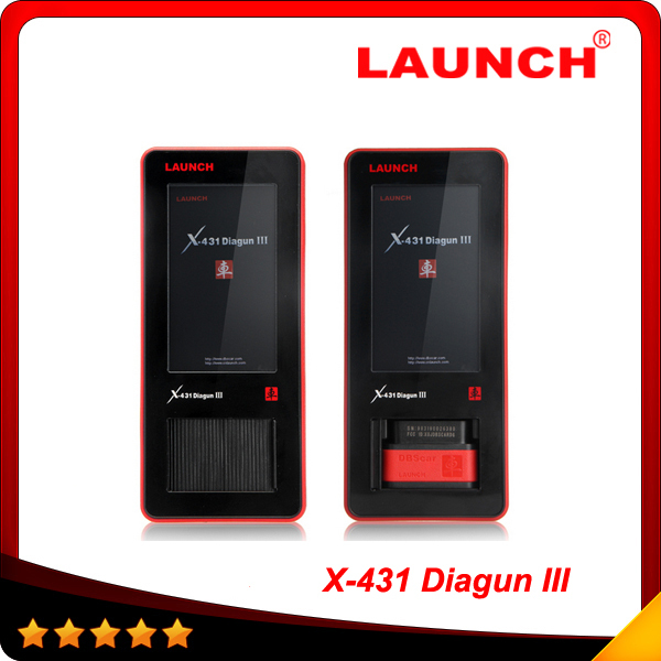 2015 New Launch Professional Auto Scanner With Latest Version Launch X431 Diagun III 100% original DHL free shipping(China (Mainland))