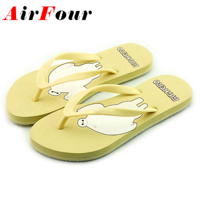 AirFour Women sandals flats summer slippers fashion sandals size 36-40 Hot women marketing bohemia beach slippers sandals flats(China (Mainland))