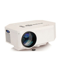 High Contrast UC30 Led Portable Projector 1080P HD 100-200 lumens Home Theater Cinema Support Multi-function interface HDMI VGA(China (Mainland))