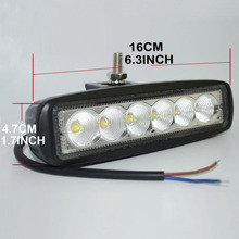 2pcs DRL18W CREE LED Work Light (Flood Beam)