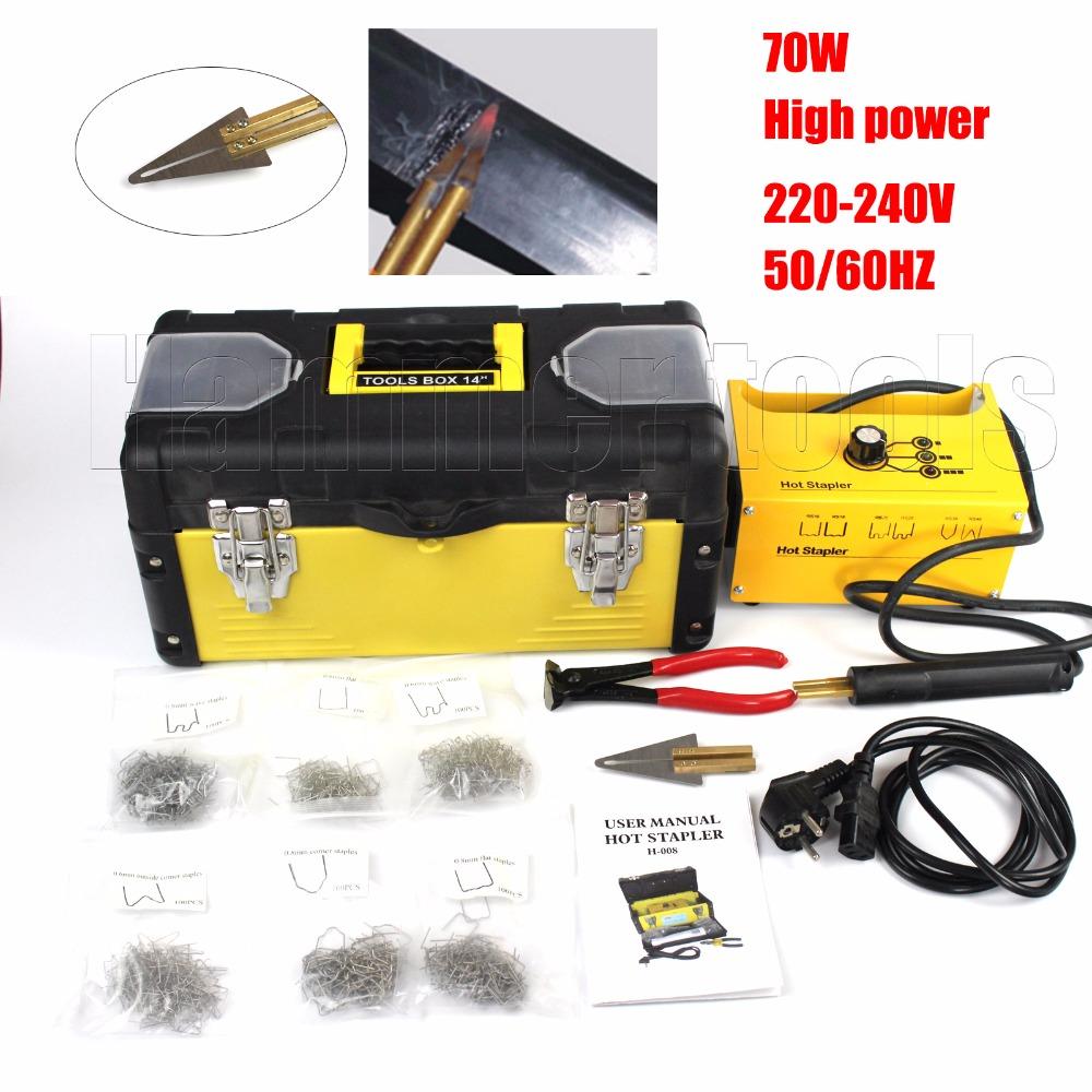 Free shipping high quality Hot stapler plastic repair machine welding machine car body repair tools(China (Mainland))