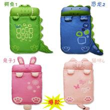 Winter Children Sleeping Bags Cartoon Animal Warm Baby Sleeping Bag 2016 New Arrival 100% Cotton Character 5.1-7.5cm 140*70(China (Mainland))