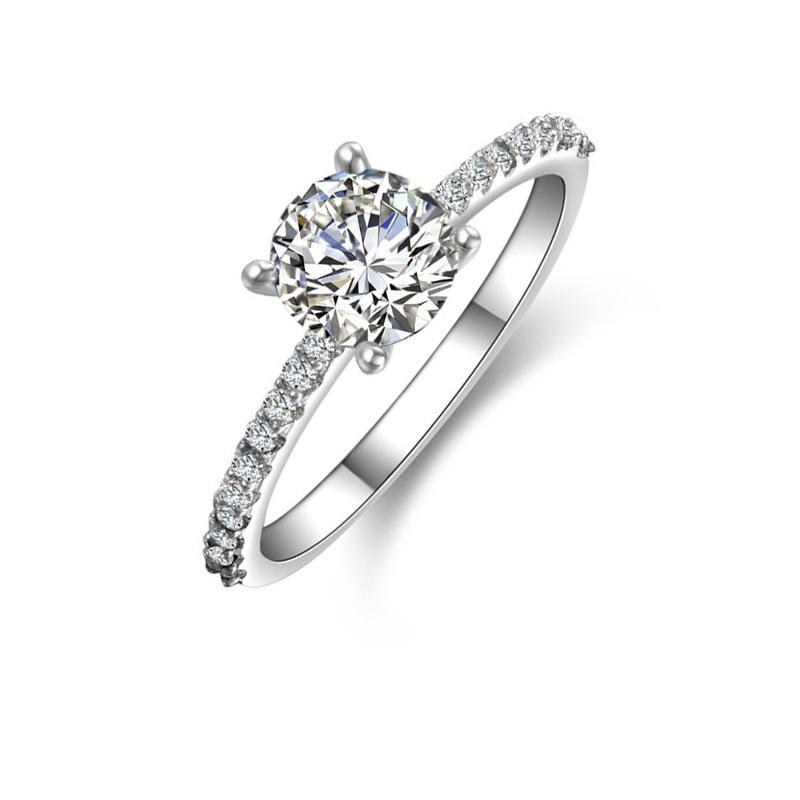 1 carat cushion cut diamond ring  eBay