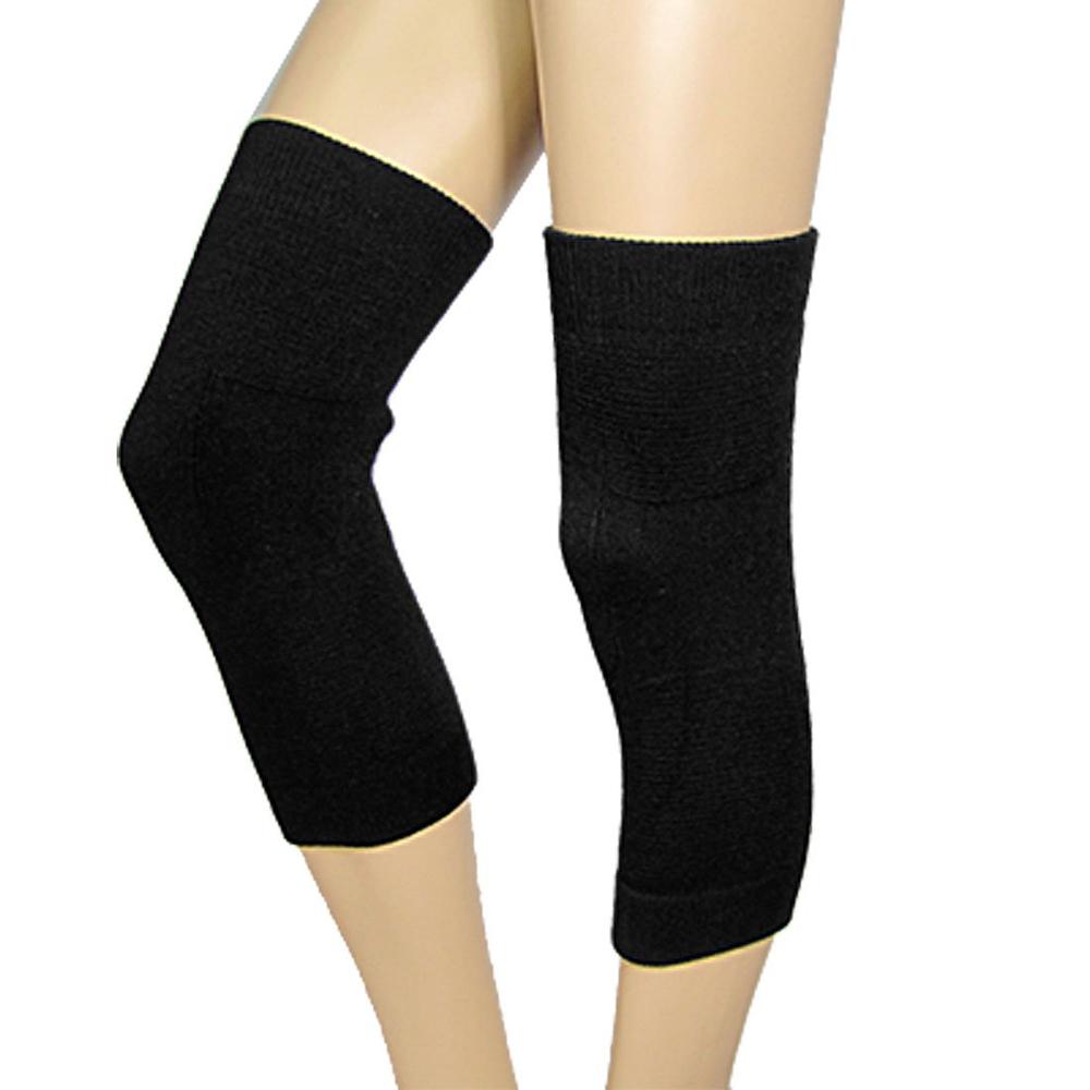 Fashion Beauty Lady's Knee Soft Warmers Wraps Black Fast Shipping(China (Mainland))