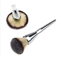 2016 Hot Sale Face Makeup Blush Powder Silver Color Handle Cosmetic Large Make Up Brushes
