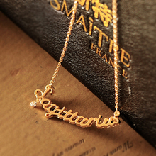 Accessories brief design short chain all-match letter constellation pendant small accessories fresh necklace female Sagittarius(China (Mainland))